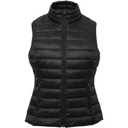 Textiel Dames Vesten / Cardigans 2786 TS31F Zwart