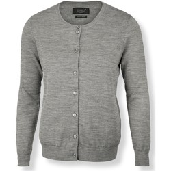 Textiel Dames Vesten / Cardigans Nimbus NB93F Grijze Melange