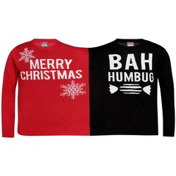 Textiel Sweaters / Sweatshirts Christmas Shop  Rood/zwart