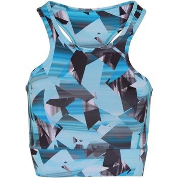 Textiel Dames Sport BH's Tridri TR921 Turquoise