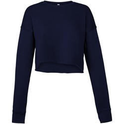 Textiel Dames Sweaters / Sweatshirts Bella + Canvas BE7503 Marine
