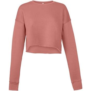 Textiel Dames Sweaters / Sweatshirts Bella + Canvas BE7503 Mauve