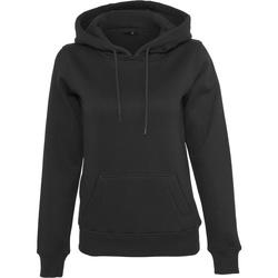 Textiel Dames Sweaters / Sweatshirts Build Your Brand BY026 Zwart