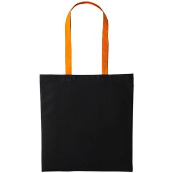 Tassen Tote tassen / Boodschappentassen Nutshell RL150 Zwart/Oranje