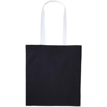 Tassen Tote tassen / Boodschappentassen Nutshell RL150 Zwart/Wit