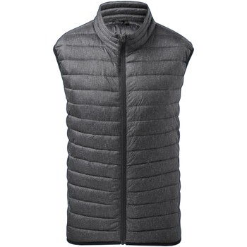 Textiel Heren Vesten / Cardigans 2786 TS038 Houtskoolmelange