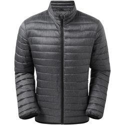 Textiel Heren Jacks / Blazers 2786 TS037 Houtskoolmelange