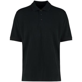 Textiel Heren Polo's korte mouwen Kustom Kit KK460 Zwart