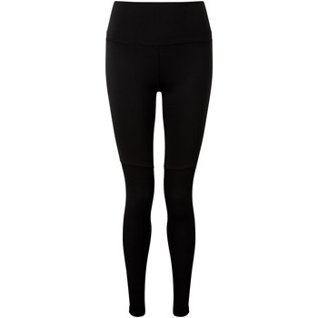Textiel Dames Leggings Tridri TR039 Zwart/Zwart