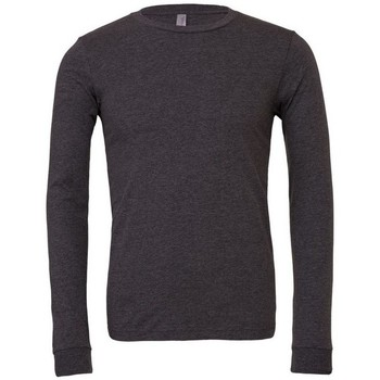 Textiel T-shirts met lange mouwen Bella + Canvas BE044 Donkergrijze heide