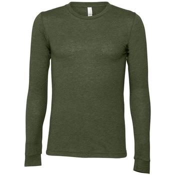 Textiel T-shirts met lange mouwen Bella + Canvas BE044 Militair Groen