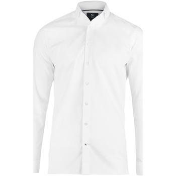 Textiel Heren Overhemden lange mouwen Nimbus N102M Wit
