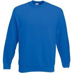 Textiel Heren Sweaters / Sweatshirts Fruit Of The Loom  Koningsblauw