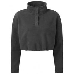 Textiel Dames Sweaters / Sweatshirts Tridri TR087 Houtskool Grijs