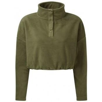 Textiel Dames Sweaters / Sweatshirts Tridri TR087 Olijf