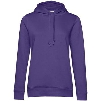 Textiel Dames Sweaters / Sweatshirts B&c  Stralend paars