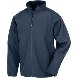 Textiel Heren Jacks / Blazers Result Genuine Recycled R901M Marine