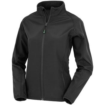 Textiel Dames Jacks / Blazers Result Genuine Recycled R901F Zwart