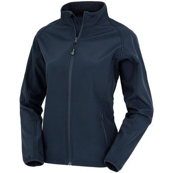 Textiel Dames Jacks / Blazers Result Genuine Recycled R901F Marine