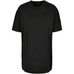 Textiel Dames T-shirts korte mouwen Build Your Brand BY149 Zwart