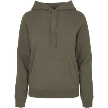Textiel Dames Sweaters / Sweatshirts Build Your Brand BB007 Olijf