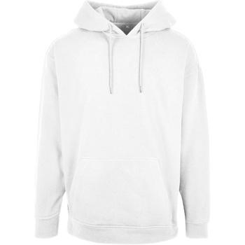Textiel Heren Sweaters / Sweatshirts Build Your Brand BB006 Wit