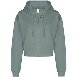 Textiel Dames Sweaters / Sweatshirts Awdis JH065 Stoffig groen