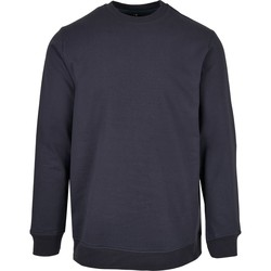 Textiel Heren Sweaters / Sweatshirts Build Your Brand BB003 Marine