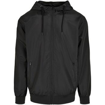 Textiel Heren Jacks / Blazers Build Your Brand BY151 Zwart
