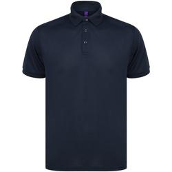 Textiel Polo's korte mouwen Henbury HB465 Marine