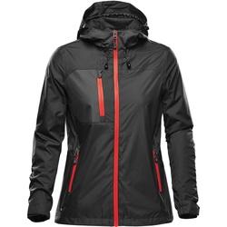 Textiel Dames Jacks / Blazers Stormtech  Zwart/Rood