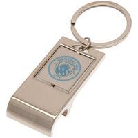 Accessoires Sleutelhangers Manchester City Fc  Zilver/Blauw