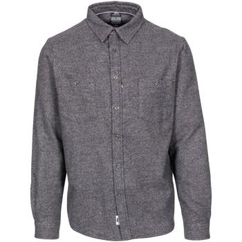 Textiel Heren Overhemden lange mouwen Trespass  Donkergrijs mergel