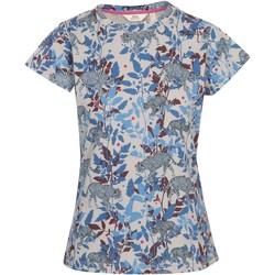 Textiel Dames T-shirts korte mouwen Trespass  Denim Blauw