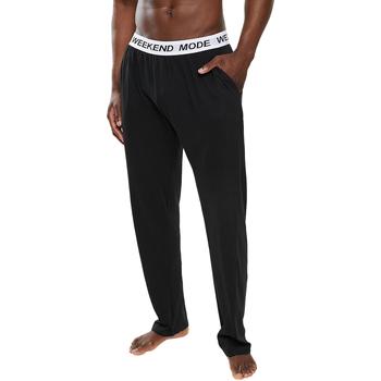 Textiel Heren Pyjama's / nachthemden Brave Soul  Zwart