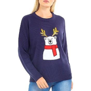 Textiel Dames Sweaters / Sweatshirts Brave Soul  Marine