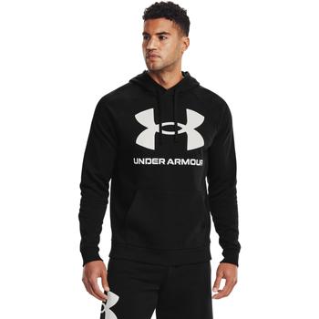 Textiel Heren Sweaters / Sweatshirts Under Armour Rival Fleece Big Logo Zwart