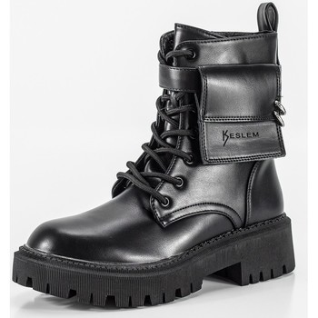 Schoenen Dames Laarzen Keslem 8391 Noir