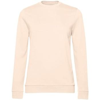 Textiel Dames Sweaters / Sweatshirts B&c WW02W Lichtroze