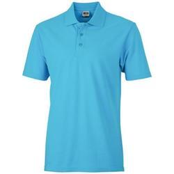 Textiel Dames Polo's korte mouwen James And Nicholson  Turquoise