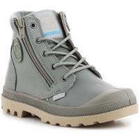 Schoenen Heren Hoge sneakers Palladium Pampa Hi Cuff WP K 53476-344-M grey