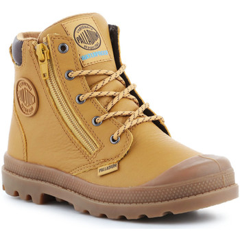 Schoenen Heren Hoge sneakers Palladium Pampa Hi CUFF WP K 53476-216-M brown