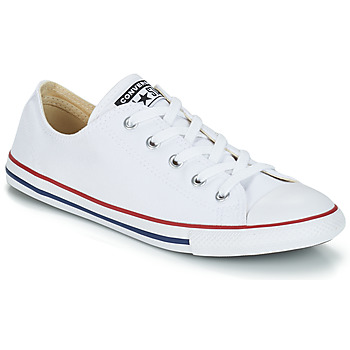 Schoenen Dames Lage sneakers Converse ALL STAR DAINTY OX Wit / Rood