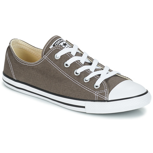 Schoenen Dames Lage sneakers Converse ALL STAR DAINTY OX Antraciet