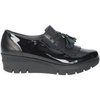 Schoenen Dames Mocassins Pitillos 1114 Black