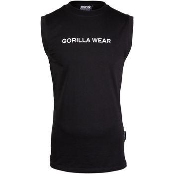 Textiel Heren Mouwloze tops Gorilla Wear Sorrento Sleeveless T-Shirt  Black Zwart