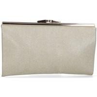 Tassen Dames Handtassen kort hengsel Luna Collection 59717 goud