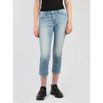 Textiel Dames ¾ jeans & 7/8 jeans Wrangler Drew Cropped Straight W26YZS64J blue