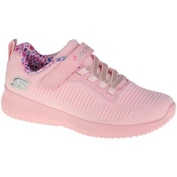 Schoenen Meisjes Lage sneakers Skechers Bobs Squad-Charm League Rose