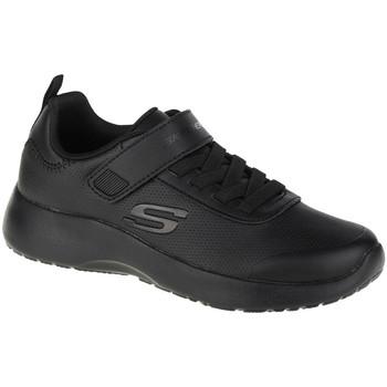 Schoenen Jongens Lage sneakers Skechers Dynamight-Day School Noir